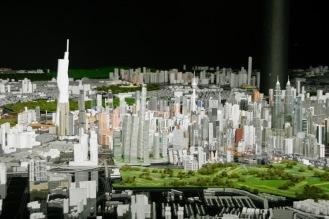 Kuala Lumpur im Modell