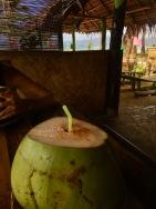 Lecker Buko (Kokosnuss) in Sabang