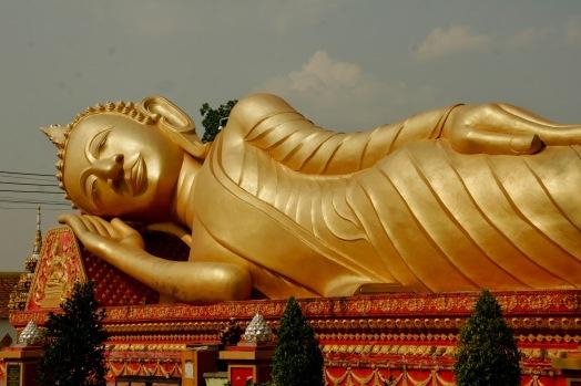 Liegender Bhudda in Vientiane