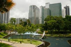 Park in der Stadtmitte Kuala Lumpurs