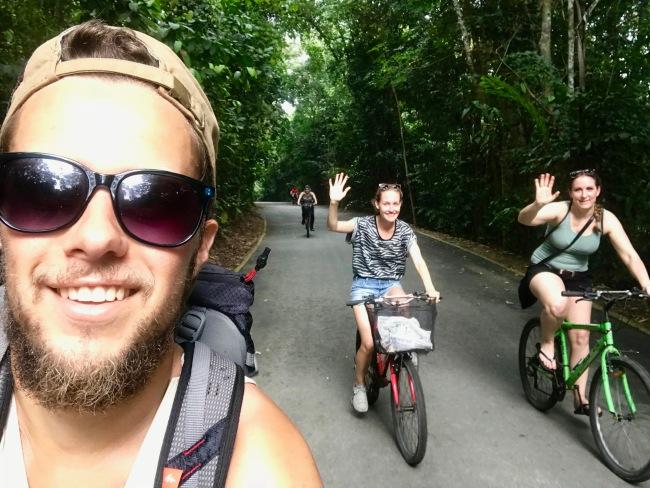 Radtour auf Pulau Ubin