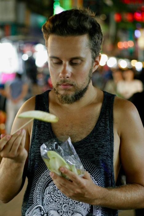Südamerikaerinnerungen in Chinatown in Kuala Lumpur