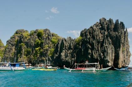 Small Lagoon mit Unmengen an Booten