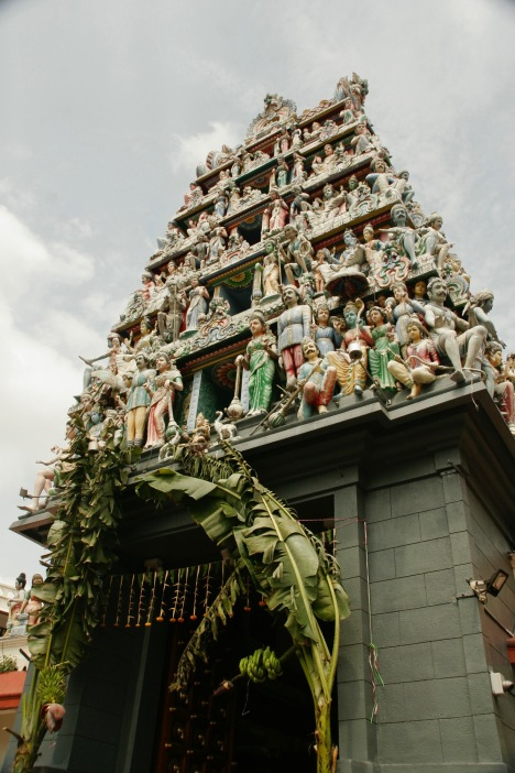 Sri Mariamman Tempel in Chinatown