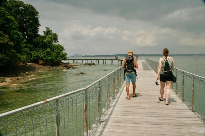 Steg in Pulau Ubin