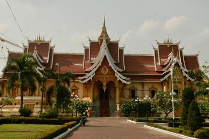 That Luang Komplex in Vientiane