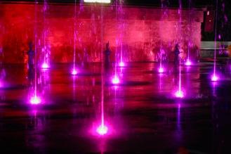 Wasserspiel in Vientiane