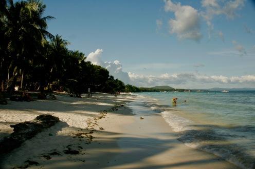 White Beach auf Bohol