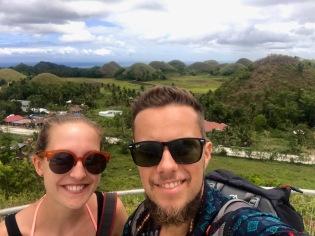 Zusammen auf dem Sagbayan Peak