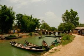 Ankunft im Dorf Indein