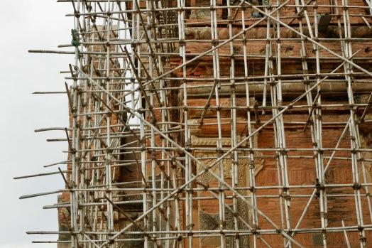 Bauarbeiten nach dem Erdbeben von 2016