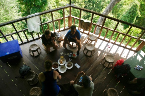 Baumhaus Nummer 7 bei der Gibbon Experience