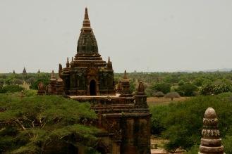 Blick vom Myauk Guni Paya