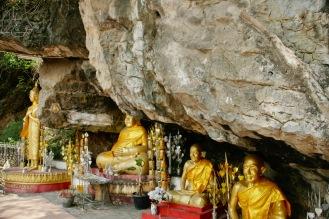 Buddhas auf dem Phou Si Berg