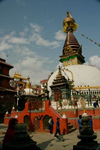 Buddhistischer Tempel in Kathmandu