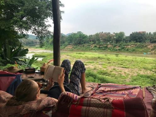 Chillen im Utopia in Luang Prabang