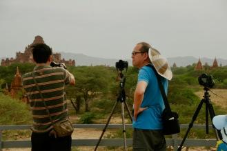 Chinesische Touristen sind immer am besten ausgestattet