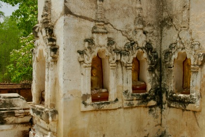 Details am Mahabodhi Tempel