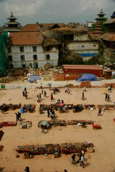 Durbar Square in Kathmandus Stadtzentrum