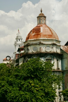 Erinnerung an Kolonialzeiten in Yangon