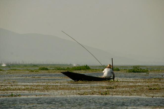Fischer auf dem Inle See