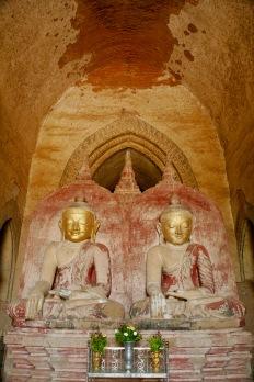 Im Inneren des Shwesandaw Paya