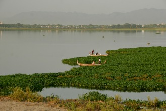 Irrawaddy Fluss bei Mandalay
