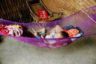 Mittagsschläfchen in Kaung Daing