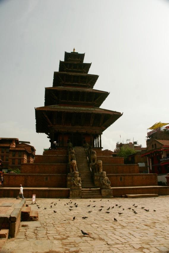 Nyatapola Tempel in Bhaktapur