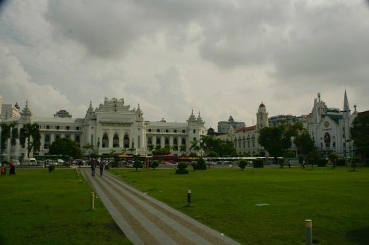 Rathaus in Yangon