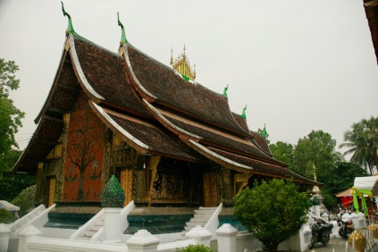 Unzählige Tempel in Luang Prabang