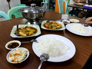 Vegetarian Center im Zentrum Yangons