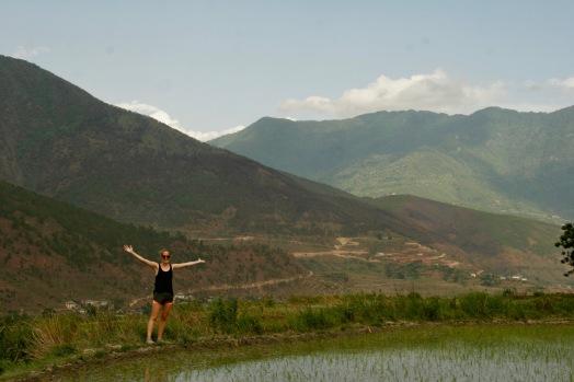Auf dem Weg zum Chimi Lhakhang