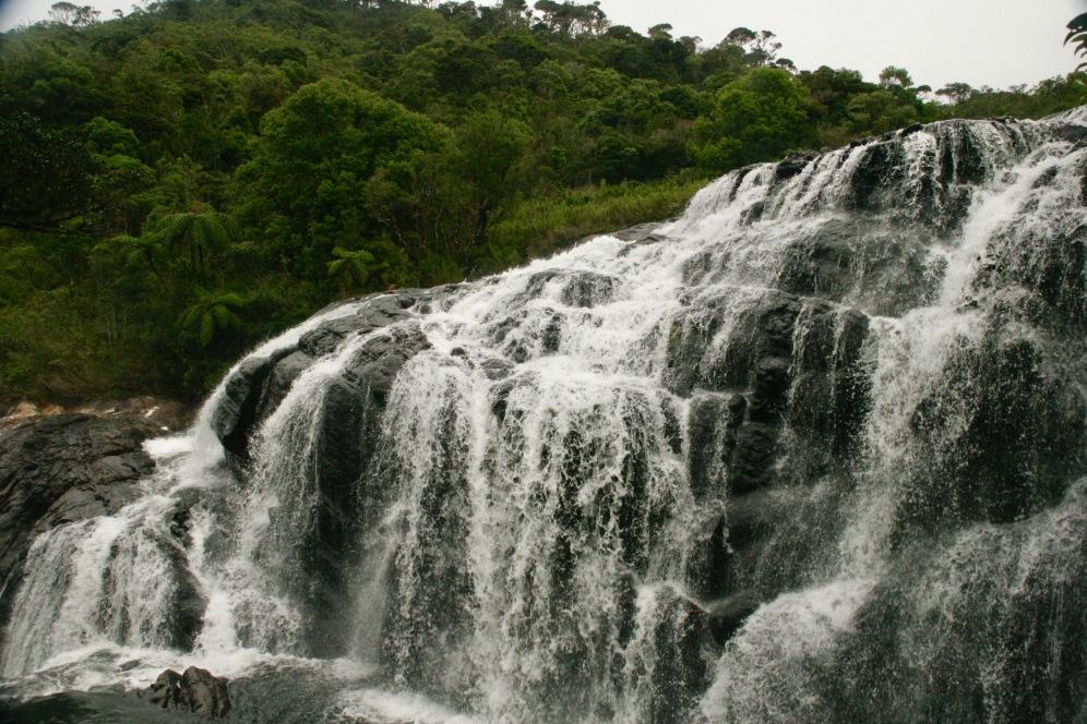 Baker Wasserfälle im Horton Plains Nationalpark