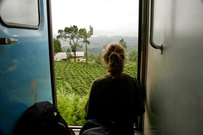 Beste Aussicht direkt aus der Zugtür