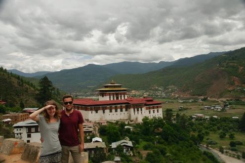 Der riesige Paro Dzong