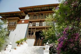Eingang zum Punakha Dzong