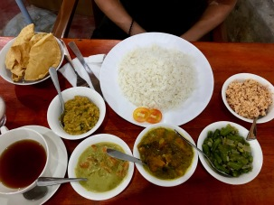 Extrem leckeres Curry in Sri Lanka