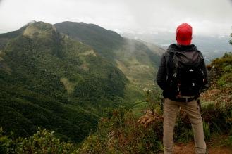 Faszinierender Blick vom Kleinen Ende der Welt über das Tal