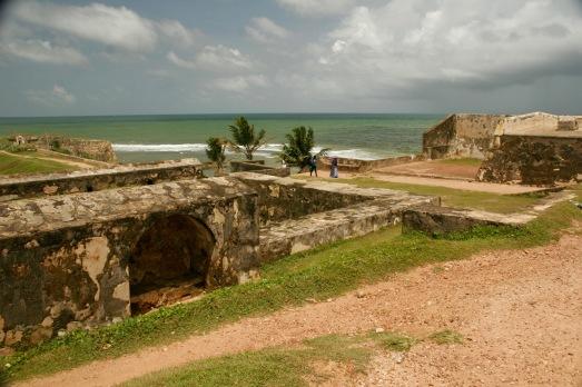 Festung direkt am Meer in Galle