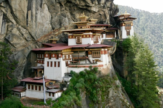 In voller Pracht - das Tigernest in Bhutan
