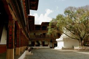 Innenhof im Punakha Dzong, Bhutan