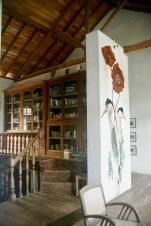 Kleine Bücherei in der Villa de Zoysa