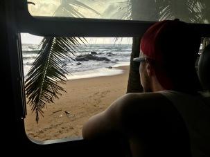 Letzte Zugfahrt durch Sri Lanka