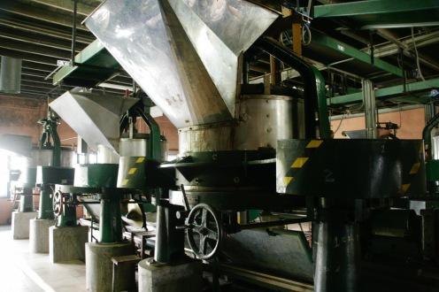 Rüttler in der Halpewatte Teefabrik