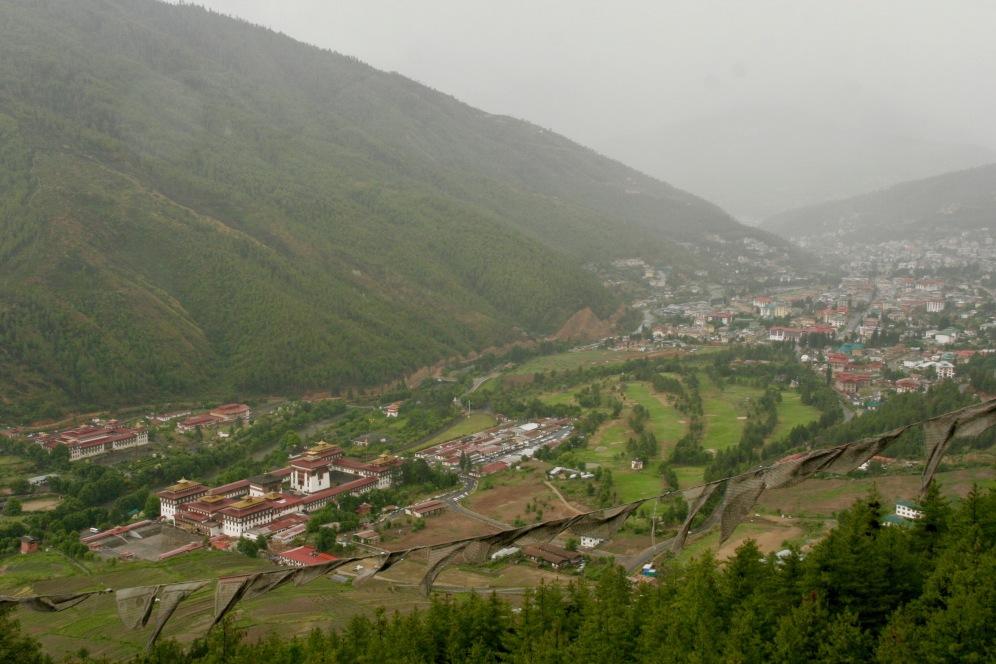Residenz des Königs in Thimphu