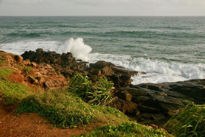 Riesige Wellen am Parrot Rock