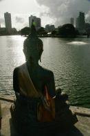 Seema Malaka Tempel am Beira See