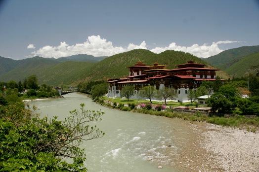 Unglaublich faszinierender Punakha Dzong