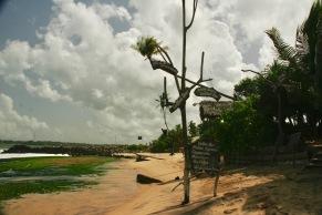 Unser Hotel Cinnabar direkt am Strand in Tangalle